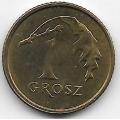 1 грош. 2004 г. Польша. 14-4-406
