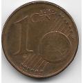 1 евроцент. 2002 г. Австрия. 10-1-608