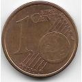 1 евроцент. 2010 г. Италия. 4-2-525