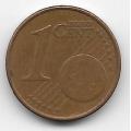 1 евроцент. 2011 г. Эстония. 4-5-243
