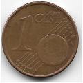 1 евроцент. 2011 г. Эстония. 4-5-247
