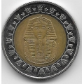 1 фунт. 2008 г. Египет. Тутанхамон. 4-5-257