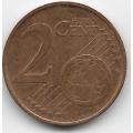 2 евроцента. 2007 г. Австрия. 6-4-448