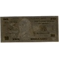 10 долларов США. Подарочная банкнота. Покрытие золотой фольгой. Б-1372