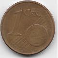 """1 евроцент. 2004 г. Германия. """"A"""". 5-1-474"""