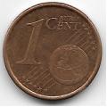 1 евроцент. 2011 г. Испания. 5-3-722