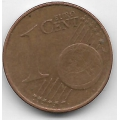 1 евроцент. 2002 г. Австрия. 5-3-729