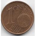 1 евроцент. 2007 г. Австрия. 5-3-730