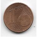 1 евроцент. 2010 г. Австрия. 5-3-731