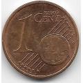 1 евроцент. 2012 г. Эстония. 5-3-741