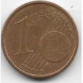 1 евроцент. 2005 г. Италия. 11-2-289