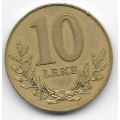 10 лек. 1996 г. Албания. Крепость. 12-2-583