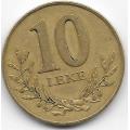 10 лек. 2000 г. Албания. Крепость. 12-2-584