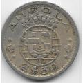 2,5 эскудо. 1956 г. Ангола. 6-3-521