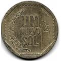 1 новый соль. 2009 г. Перу. 19-5-153