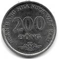 200 донгов. 2003 г. Вьетнам. 18-2-193