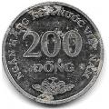 200 донгов. 2003 г. Вьетнам. 18-2-194