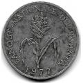1 франк. 1977 г. Руанда. Просо. 18-3-217