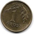 1 грош. 1998 г. Польша. 4-1-314
