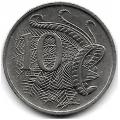10 центов. 1980 г. Австралия. Лирохвост. 15-2-199