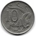 10 центов. 1971 г. Австралия. Лирохвост. 15-2-212