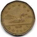 1 доллар. 1987 г. Канада. 15-6-278