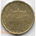 20 евроцентов. 2009 г. Словакия. 18-3-234