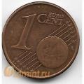 1 евроцент. 2008 г. Ирландия. 18-5-290