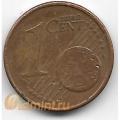 1 евроцент. 2011 г. Ирландия. 18-5-294
