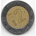 2 песо. 2007. Мексика. 12-5-527