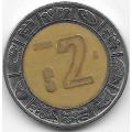2 песо. 2000. Мексика. 12-5-528
