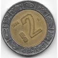 2 песо. 1998. Мексика. 12-5-546
