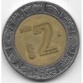 2 песо. 2006. Мексика. 12-5-551