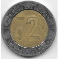 2 песо. 2007. Мексика. 12-5-552