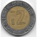 2 песо. 2001. Мексика. 19-5-182