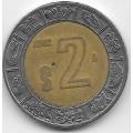 2 песо. 2002. Мексика. 19-5-183