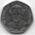 1 доллар. 2006 г. Ямайка. Вильям Александр Бустаманте. 19-5-203