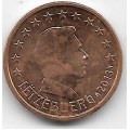 1 евроцент. 2013 г. Люксембург. Анри. 11-2-351