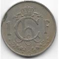 1 франк. 1960 г. Люксембург. 7-1-642