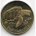 1 эскудо. 1994 г. Кабо-Верде. Морская черепаха. 4-1-368