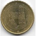 10 евроцентов. 2010 г. Австрия. 4-1-383