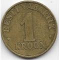 1 крона. 2000 г. Эстония. 18-2-206