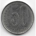 50 сентимо. 2007 г. Венесуэла. 19-2-334