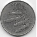 10 крон. 1994 г. Исландия. Мойва. 19-5-219