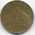 1 крона. 2003 г. Эстония. 14-3-446