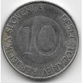 10 толаров. 2005 г. Словения. 12-1-365