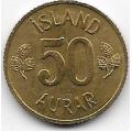 50 эйре. 1969 г. Исландия. 18-2-229
