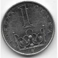 1 крона. 2008 г. Чехия. 3-9-27