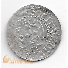 Солид. Сигизмунд III. Рига. Серебро. 9-3-291