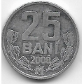 25 бани. 2008 г. Молдова. 1-8-82